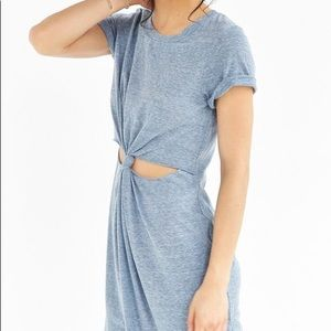 Urban Outfitters Honey Punch Knot Tee Dress